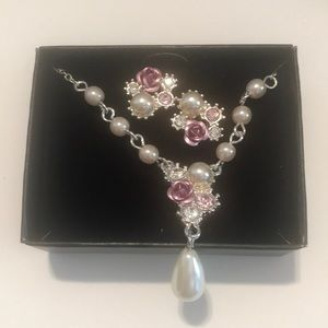 Avon Melissia Necklace and Earrings Gift Set